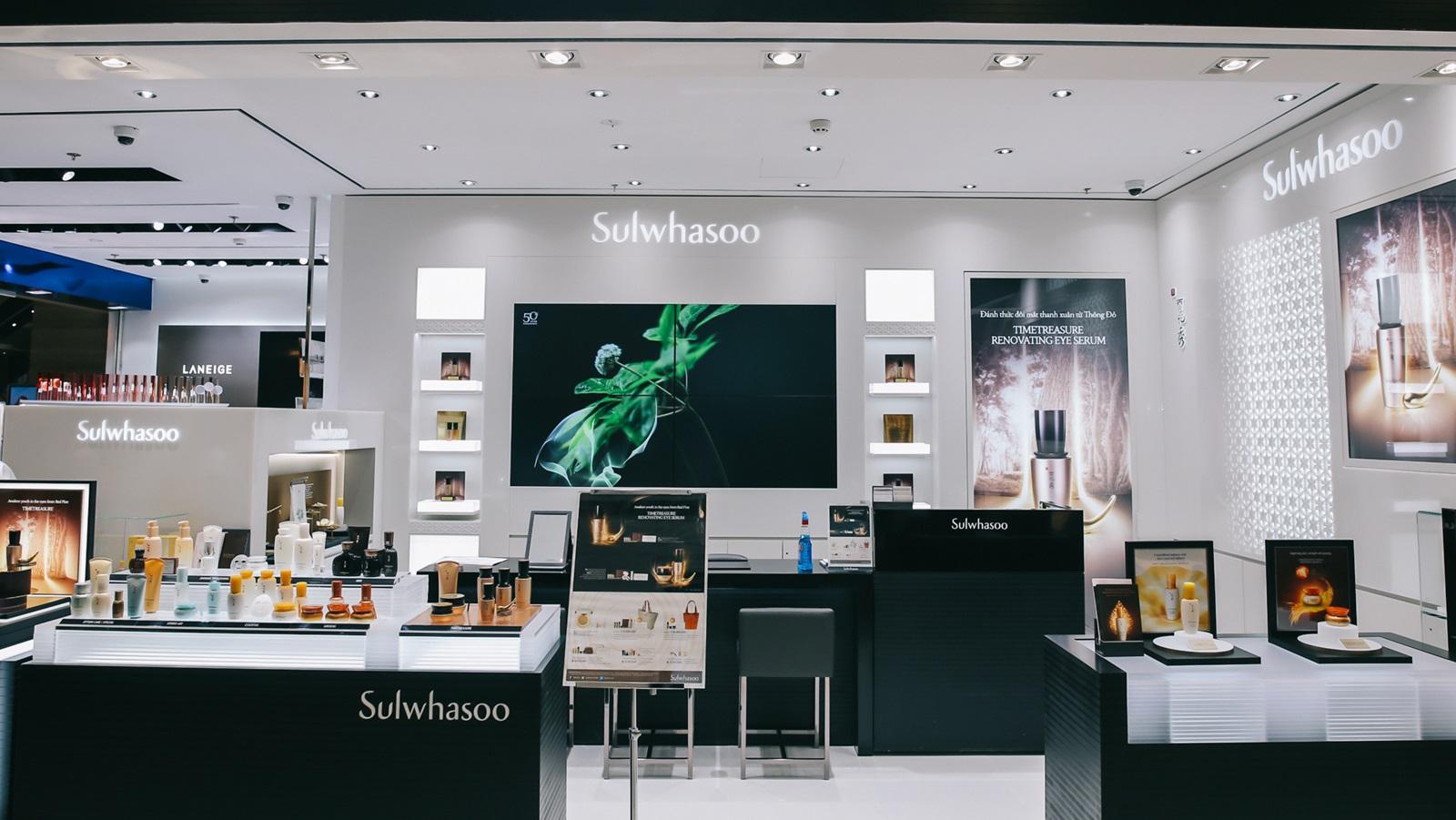 Sulwhasoo ra mắt liên tiếp hai cửa hàng thứ 5 và thứ 6 tại Việt Nam