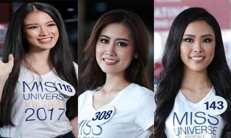 Lộ diện 10 nhan sắc đầu tiên vào bán kết Top 70 Hoa hậu Hoàn vũ Việt Nam 2017 – đối thủ của Hoàng Thùy, Mai Ngô