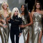 Donatella Versace tưởng nhớ đến anh trai với show diễn BST Xuân Hè 2018 đặc sắc