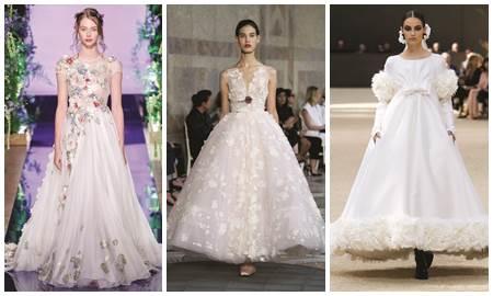 Những chiếc váy cưới đáng mơ ước nhất mùa thu năm nay