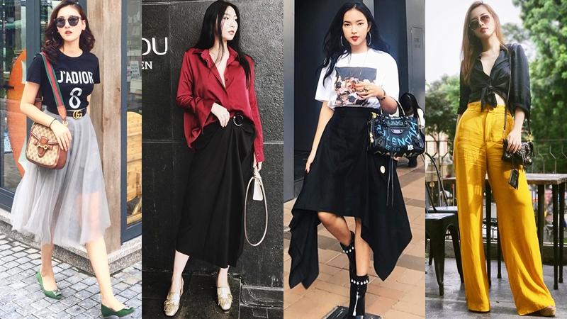 """Học cách """"lên đồ"""" thời thượng, cá tính từ street style của các quý cô thời trang Việt"""