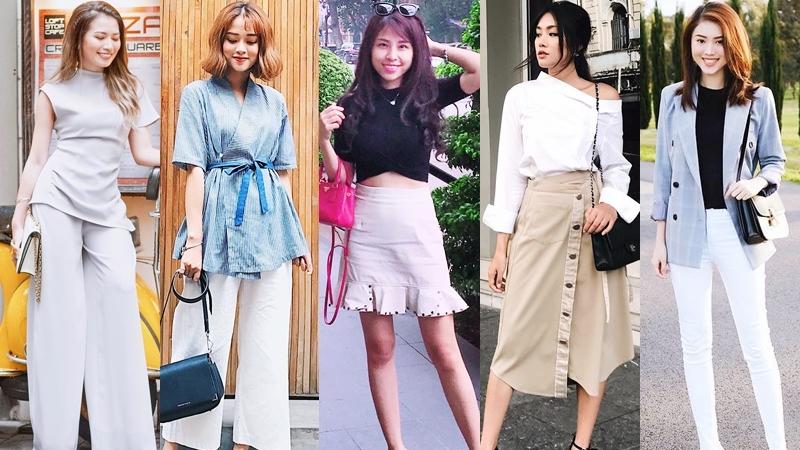 Mix đồ giao mùa ngọt ngào như quý cô thời trang Việt