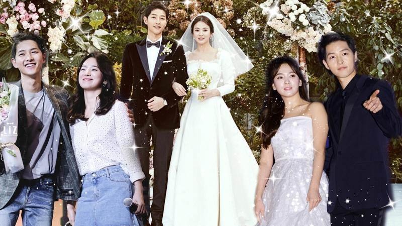 Ngất ngây với loạt đồ đôi lãng mạn, tình tứ của Song Hye Kyo và Song Joong Ki