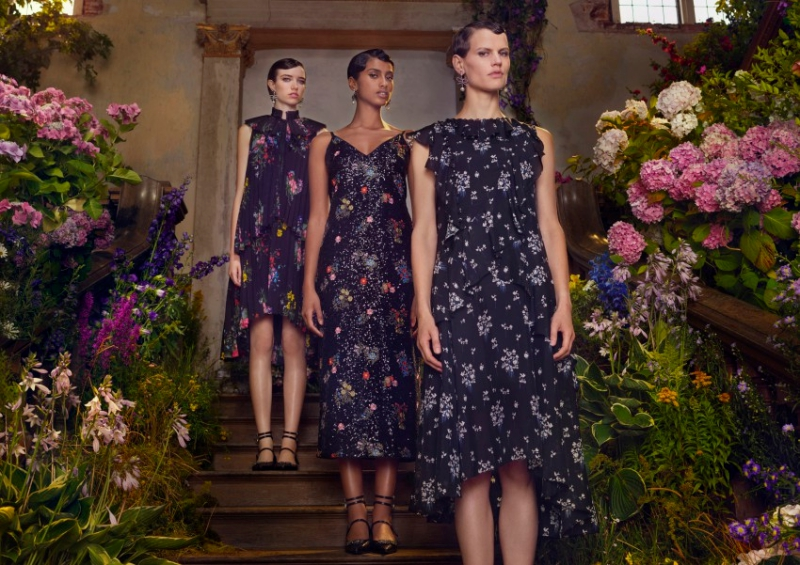 Những thiết kế dành cho nữ trong BST ERDEM x H&M