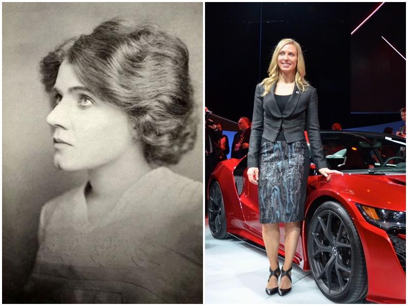 Những bóng hồng quyền lực trong ngành công nghiệp xe hơi
