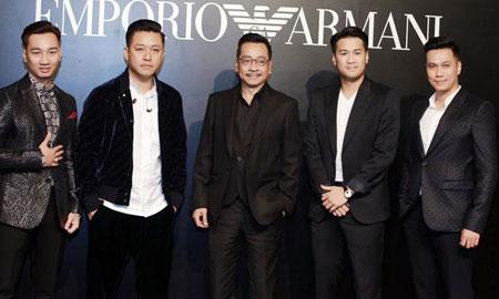 """Dàn sao """"siêu hot"""" quy tụ trong buổi khai trương cửa hàng đầu tiên của Emporio Armani tại Hà Nội"""