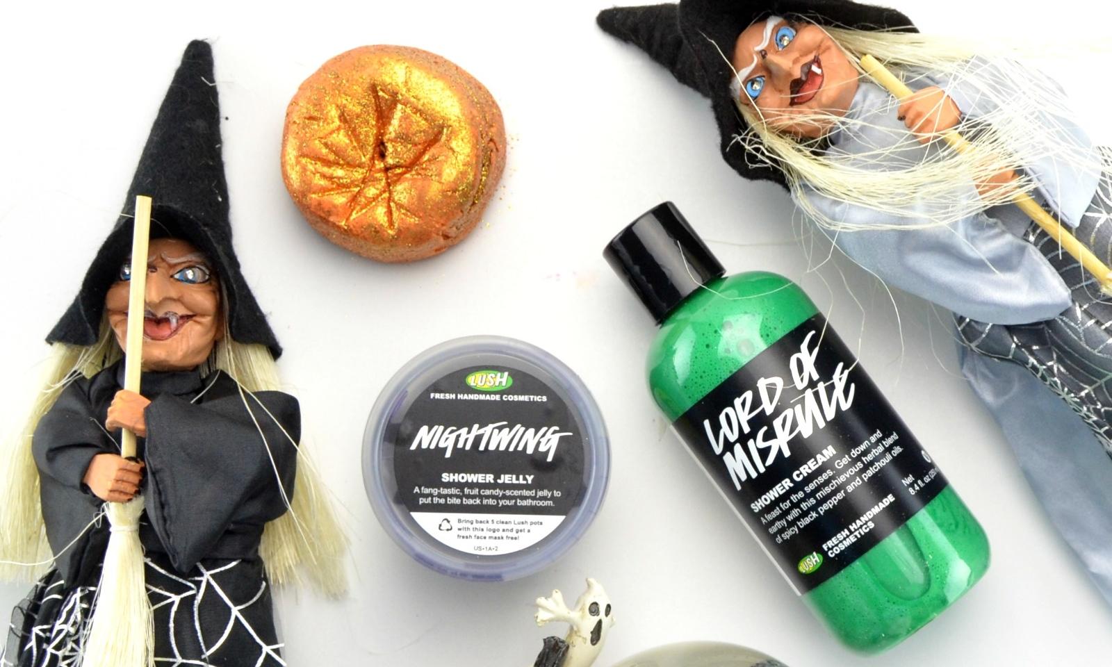 Chỉ chờ đến Halloween để tận hưởng bộ sản phẩm ma quái rất dễ thương của Lush