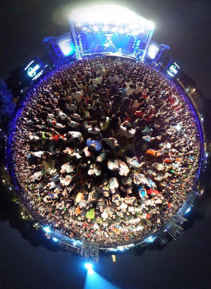 Khán giả của Monsoon đã tạo thành những mùa lễ hội âm nhạc đáng nhớ.
