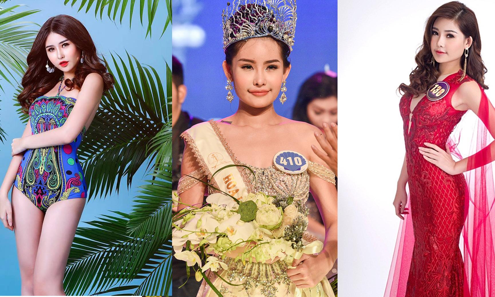 Đâu là nhan sắc thật tân Hoa hậu Đại Dương – Lê Âu Ngân Anh