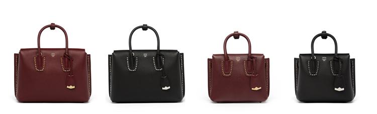 Túi xách Milla Studded Outline với các chi tiết giản đơn tạo nên phom dáng tinh tế. Mẫu túi ra mắt hai màu mới là nâu và đen, được tạo điểm nhấn bởi những chi tiết đinh tán.