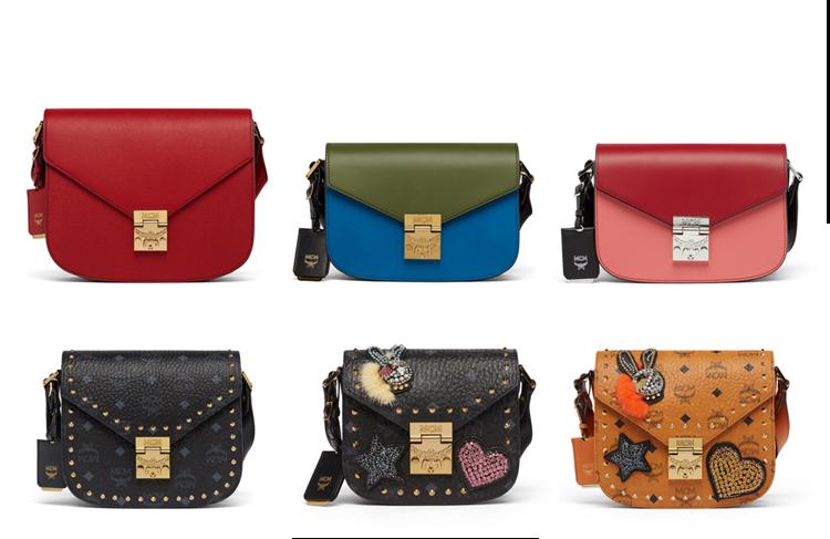 """Dòng túi xách Patricia được lấy cảm hứng từ thiết kế Patty trong bộ lưu trữ của MCM. Đây là một trong số những thiết kế túi xách """"chủ lực"""" của MCM với những biến tấu đa dạng và đẹp mắt."""