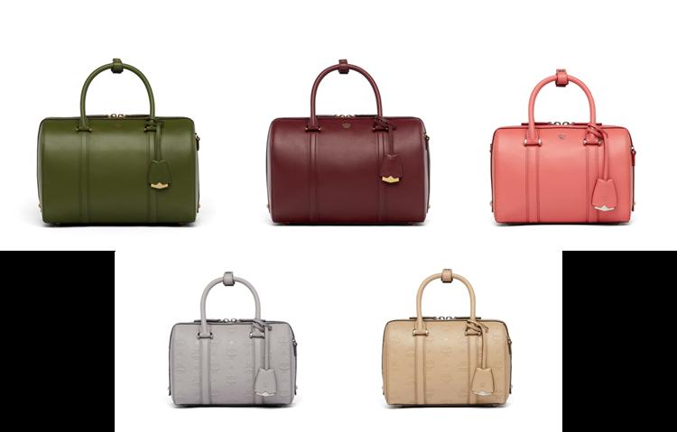 """""""The Essential Boston"""" lấy cảm hứng từ chiếc túi du lịch với khoang chứa rộng rãi cùng quai xách và quai đeo năng động."""
