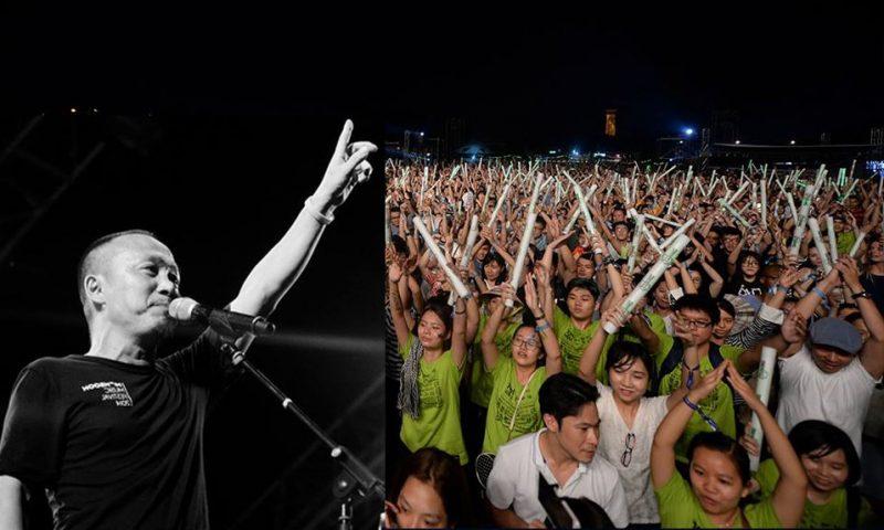 """Nhạc sĩ Quốc Trung gây bất ngờ với lời tạm biệt Monsoon:  """"Chúng ta cùng thắp sáng Hoàng Thành bằng tình yêu âm nhạc lần cuối"""""""