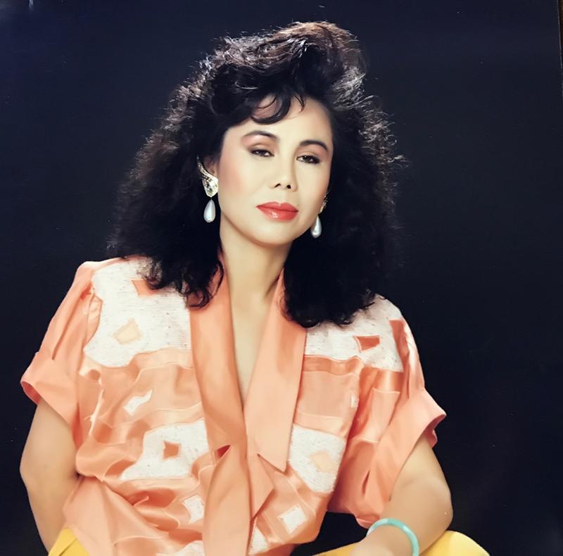 Nữ ca sĩ Thanh Tuyền ngày trẻ.