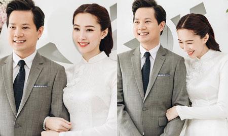 """Nhan sắc ngọt ngào, """"không góc chết"""" của Hoa hậu Đặng Thu Thảo trong ngày đính hôn"""