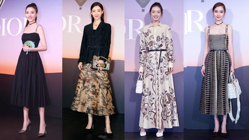Dàn sao Hoa ngữ khoe sắc tại lễ khai trương cửa hiệu Dior tại Thượng Hải
