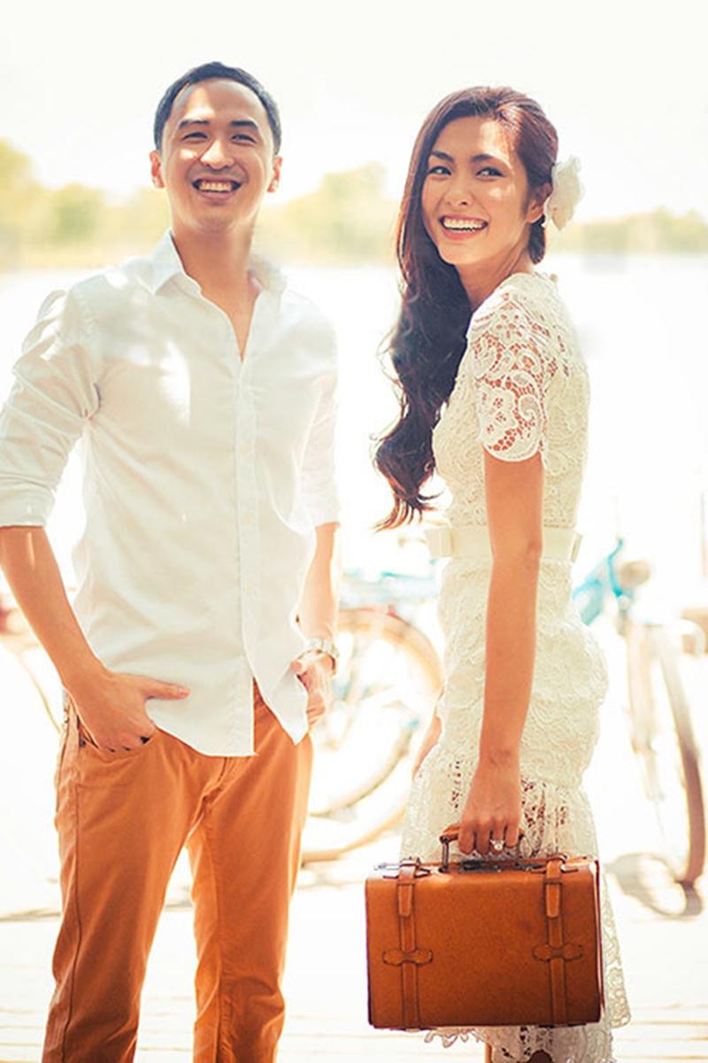 Hà Tăng cùng chồng