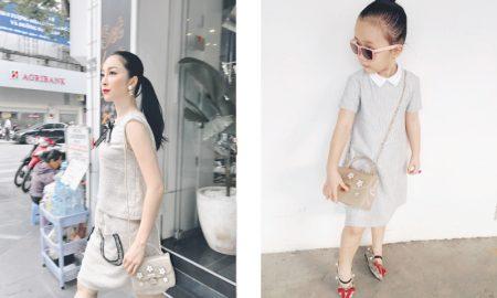 """Linh Nga và con gái Luna """"đồng điệu"""" với những hình ảnh ngọt ngào"""