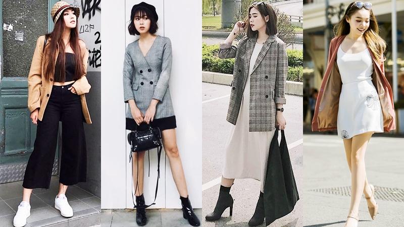 Muôn kiểu phối đồ với blazer của quý cô thời trang Việt