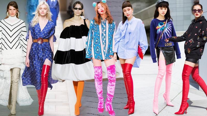 """Boots cao quá gối – """"Bảo bối"""" phải có của fashionista trong mùa Thu Đông năm nay"""