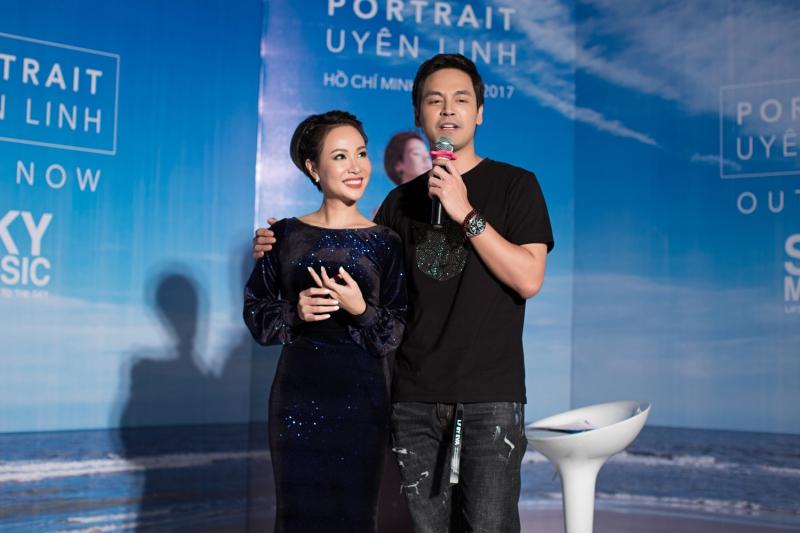 MC Phan Anh bất ngờ có mặt tại buổi họp báo