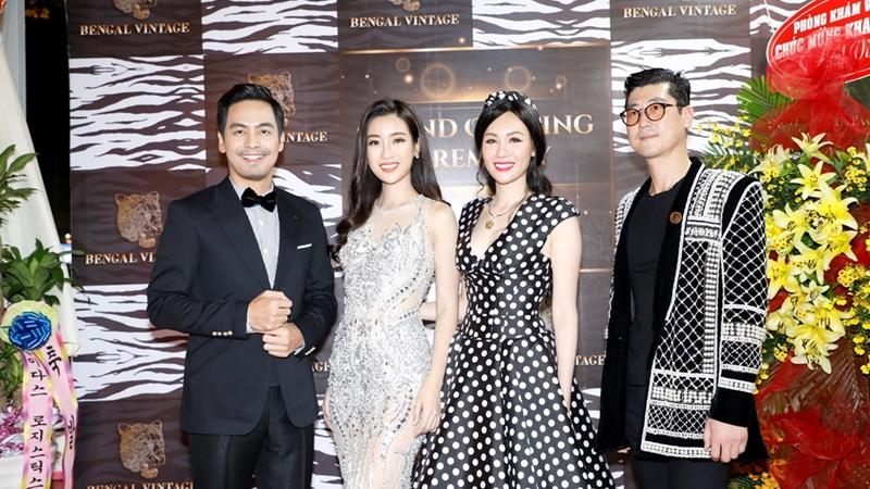 Hoa hậu Đỗ Mỹ Linh tỏa sáng ở buổi khai trương Bengal Vintage