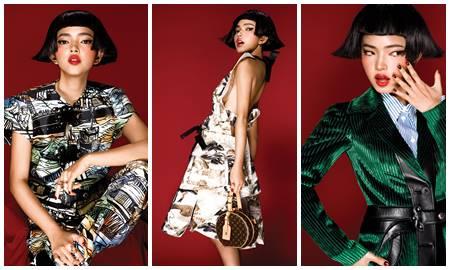 """Châu Bùi """"phá cách"""" trong những thiết kế mang đậm dấu ấn văn hóa Nhật Bản của Louis Vuitton"""