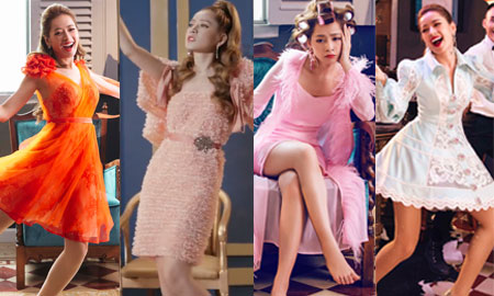 """""""Soi"""" 7 bộ trang phục của quý cô đỏng đảnh Chi Pu trong MV mới"""