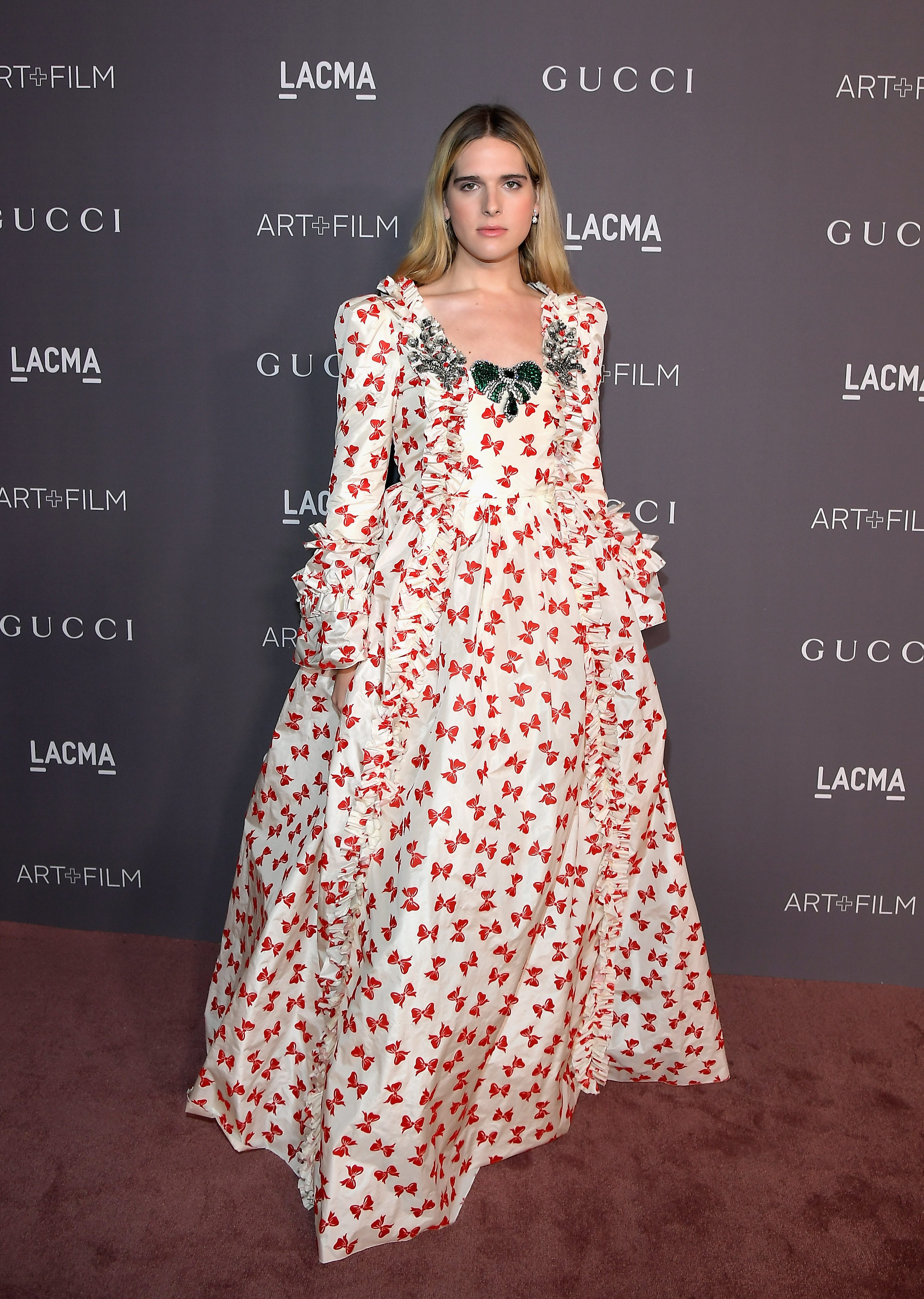 LOS ANGELES, CA - NOVEMBER 04: Model Hari Nef, wearing Gucci, attends the 2017 LACMA Art + Film Gala Honoring Mark Bradford and George Lucas presented by Gucci at LACMA on November 4, 2017 in Los Angeles, California. (Photo by Charley Gallay/Getty Images for LACMA)