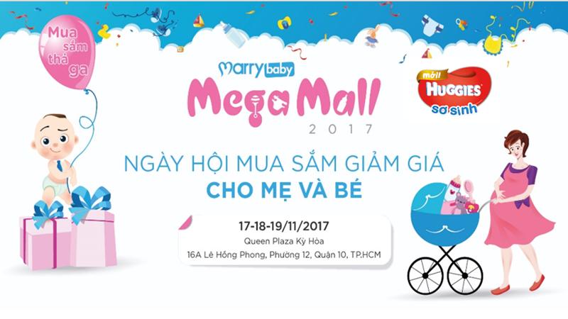 Thỏa sức mua sắm cho bé tại ngày hội MarryBaby Mega