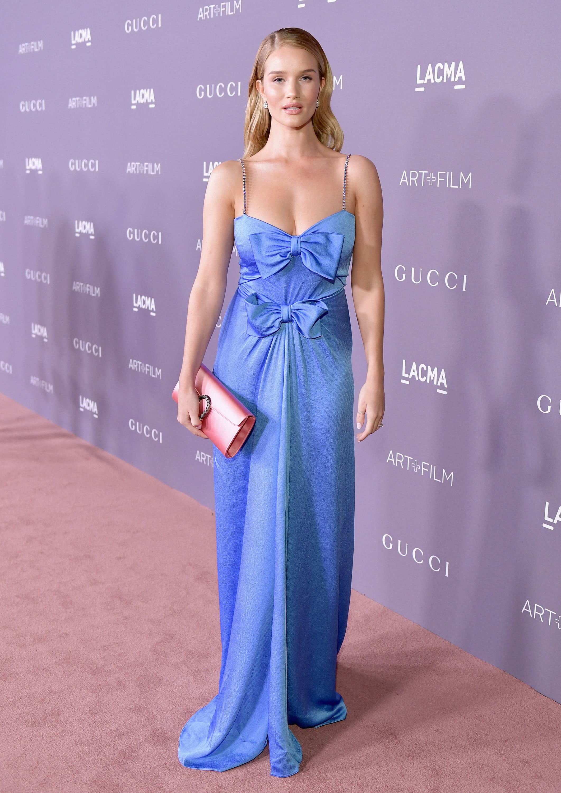 LOS ANGELES, CA - NOVEMBER 04: Actor Rosie Huntington-Whiteley attends the 2017 LACMA Art + Film Gala Honoring Mark Bradford and George Lucas presented by Gucci at LACMA on November 4, 2017 in Los Angeles, California. (Photo by Neilson Barnard/Getty Images for LACMA)