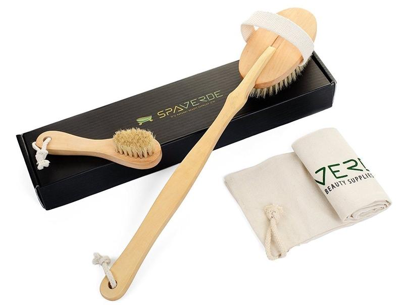 Cọ tắm SpaVerde Dry Brush (25USD, khoảng 570.000VNĐ)