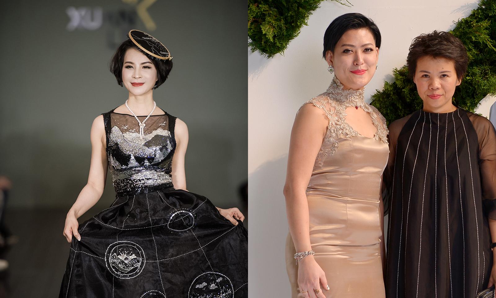 MC Thanh Mai diện váy gắn 20.000 viên đá Swarovski  làm vedette ở tuổi U50