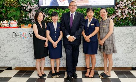 Dermaster Vietnam nhận danh hiệu AMBASSADOR SKINCLINIC – đại sứ thương hiệu dược mỹ phẩm SKINCLINIC