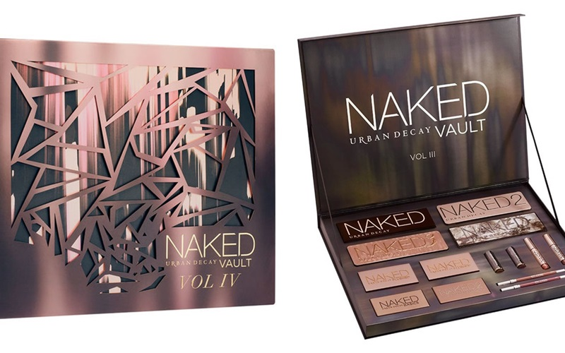 Urban Decay Naked Vault vol IV: bộ sản phẩm gồm màu mắt và son. Giá: 195$ (khoảng: 4.290.000VND)