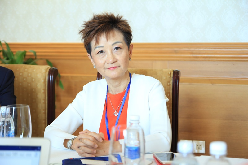 bà Viveca Chan (Chủ tịch&CEO của WE Marketing group)