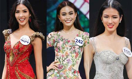 Hoàng Thùy, Mâu Thủy lọt top 45 thí sinh vào vòng chung kết Hoa hậu Hoàn vũ Việt Nam