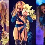 """Jennifer Lopez """"đốt cháy"""" sân khấu ở Dubai với thiết kế của NTK gốc Việt"""
