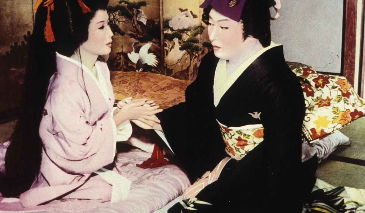 Diễn viên Kabuki của Nhật Bản.