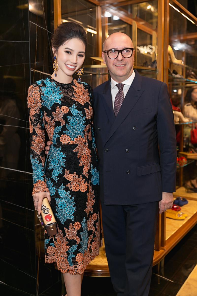 Hoa hậu Jolie Nguyễn và ông Alfoso Dolce