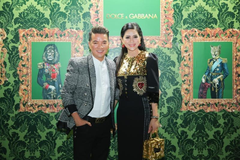 Ca sĩ Đàm Vĩnh Hưng và bà Lê Hồng Thủy Tiên