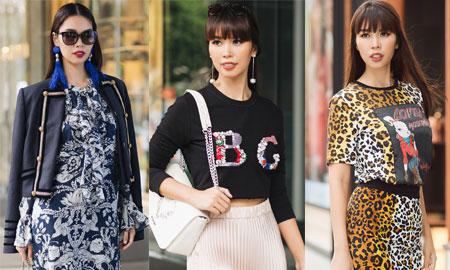 Mặc đa phong cách đẹp như siêu mẫu Hà Anh