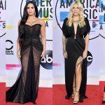 Tông màu đen phủ kín thảm đỏ American Music Awards 2017