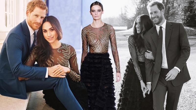 Công nương tương lai của Hoàng gia Anh lộng lẫy trong váy đính hôn 1,7 tỉ đồng