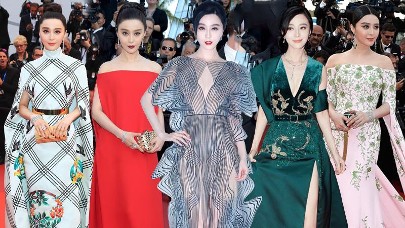 Phạm Băng Băng được vinh danh là ngôi sao quốc tế mặc đẹp nhất thế giới năm 2017