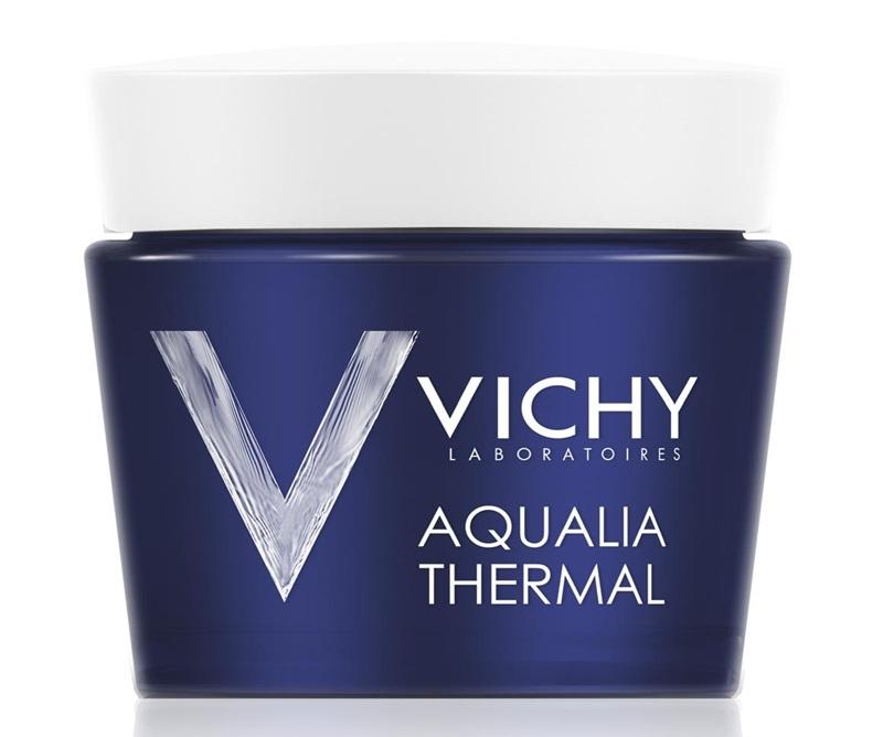 Vichy Aqualia Therma: Gel dưỡng chứa 15 loại khoáng chất đặc biệt do Vichy nghiên cứu giúp cung cấp nước và duy trì độ ẩm cho da suốt 48 tiếng.