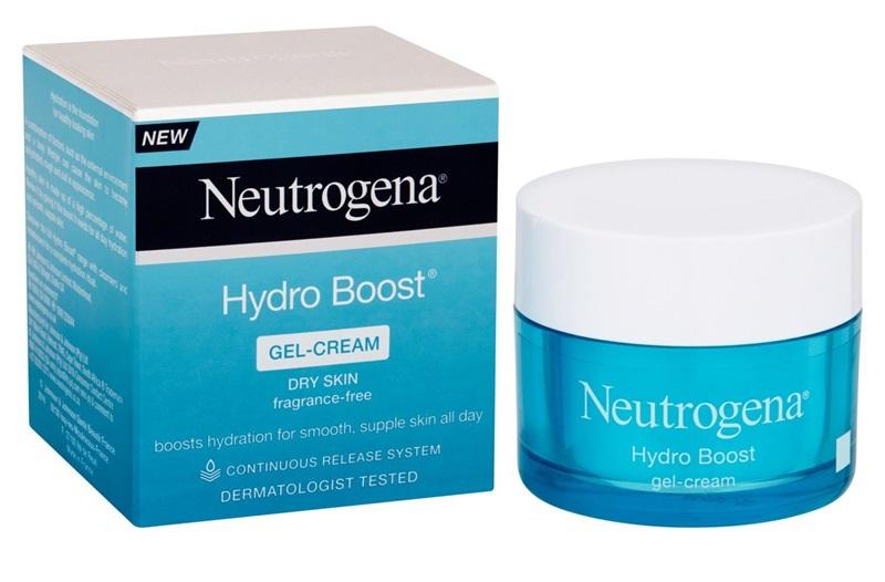 Neutrogena Hydro Boots GelCream: Gel dưỡng giúp giữ ẩm cả ngày cho da, bảo vệ da khỏi ảnh hưởng của điều hòa, tia tử ngoại và các tác nhân từ môi trường.