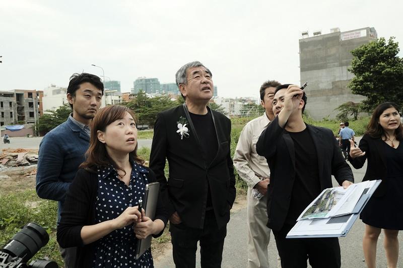 Kengo Kuma là một trong những kiến trúc sư xuất sắc Nhật hiện nay.