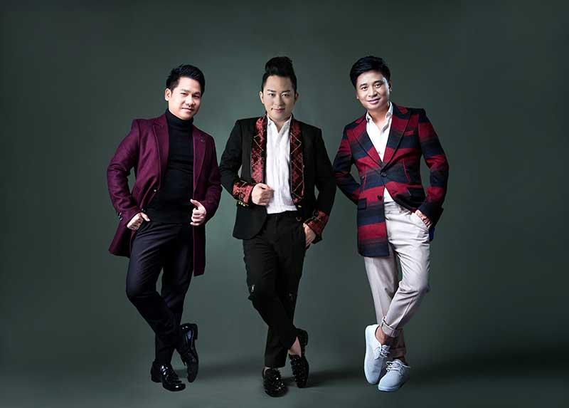 Ba giọng tenors sẽ hòa giọng trong Imagine.
