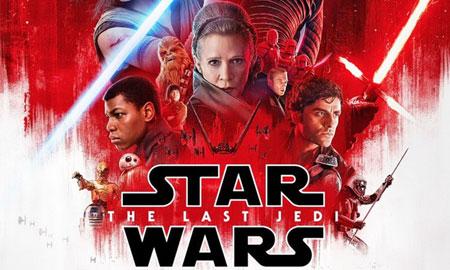 """""""The Last Jedi"""" trở thành phim ăn khách thứ ba trong năm 2017"""